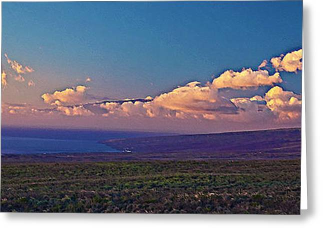 Haleakala In Sunset Clouds Greeting Card