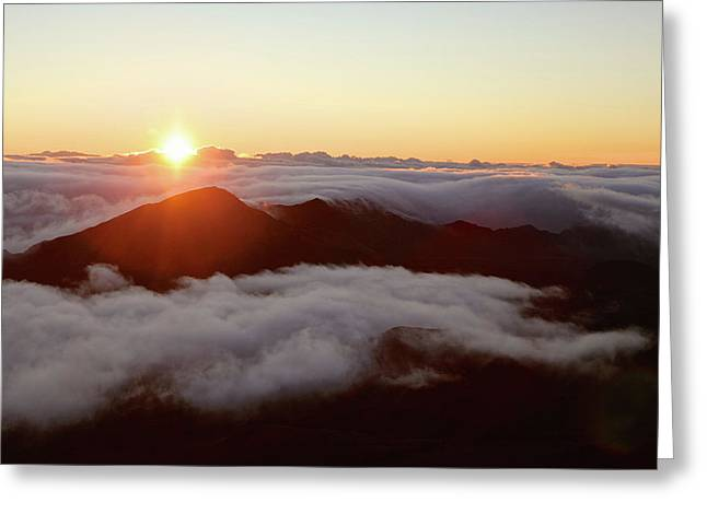 Haleakala Greeting Card