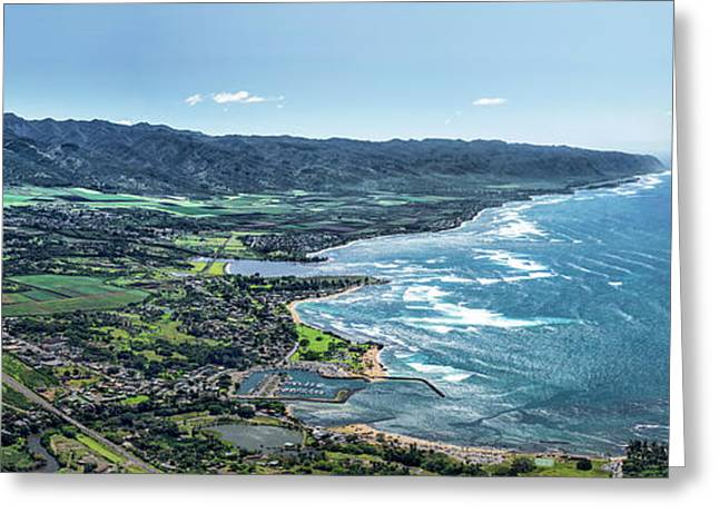 Haleiwa Country Greeting Card by Sean Davey