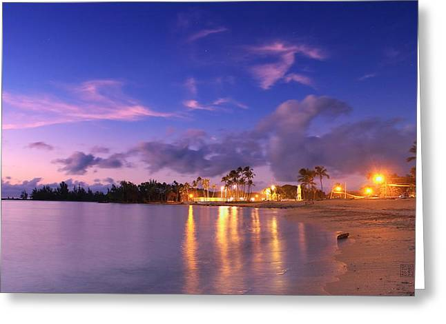 Hale'iwa Evening Greeting Card