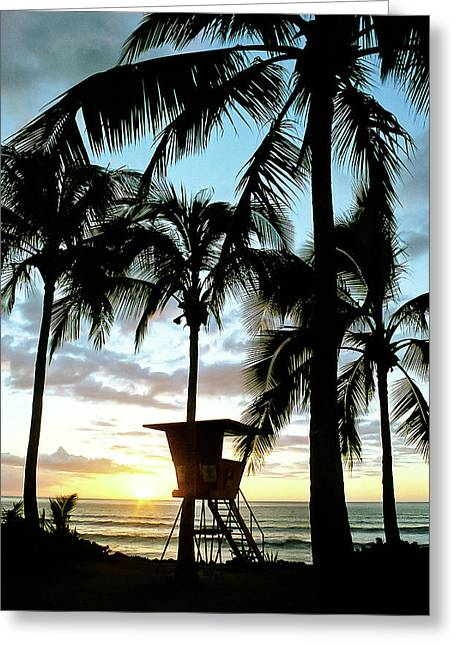 Haleiwa Sunset Greeting Card