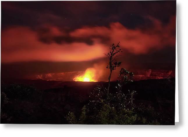 Halemaumau Crater Greeting Card
