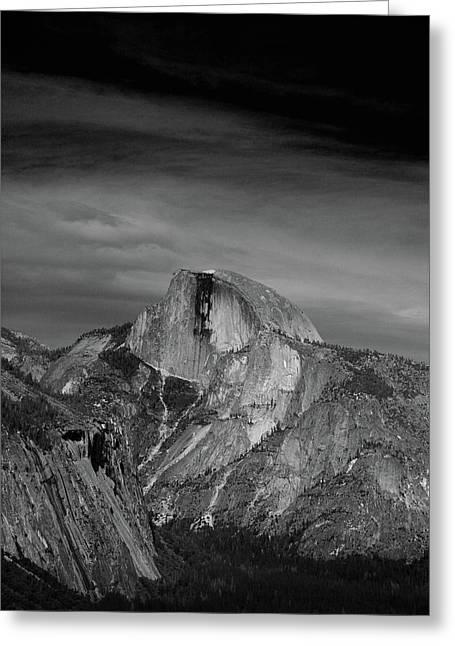 Half Dome From Columbia Rock Greeting Card by Raymond Salani III