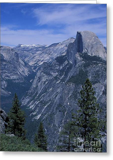 Half Dome From Washburn Point Greeting Card by Stan and Anne Foster