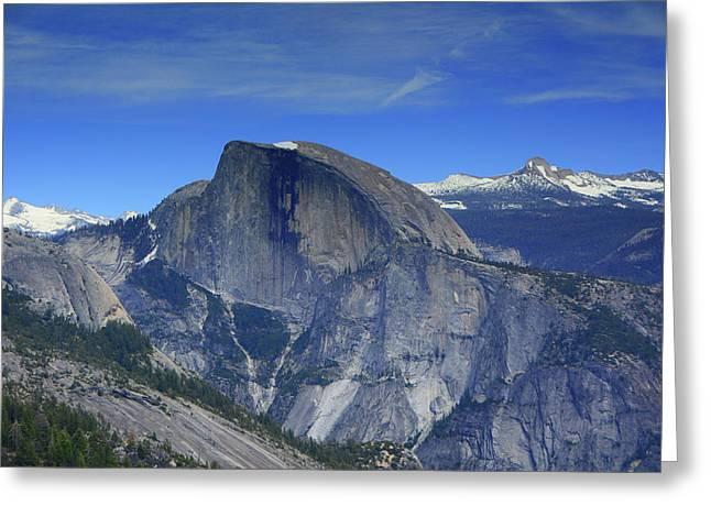 Half Dome From Yosemite Point Greeting Card by Raymond Salani III