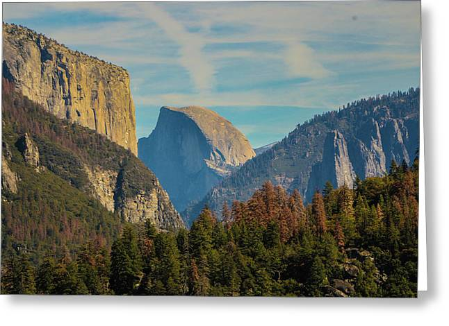 Half Dome View Greeting Card