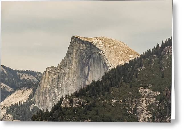 Half Dome Yosemite Valley Yosemite National Park Greeting Card