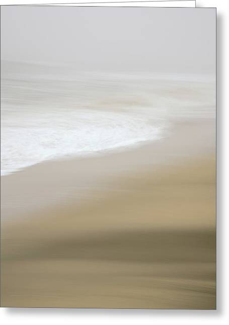 Greeting Card featuring the photograph Half Moon Bay - Impressions by Francesco Emanuele Carucci