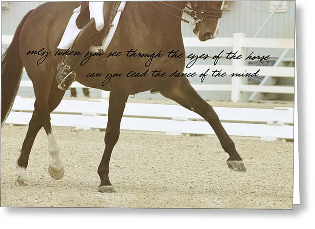 Half Pass Quote Greeting Card by JAMART Photography