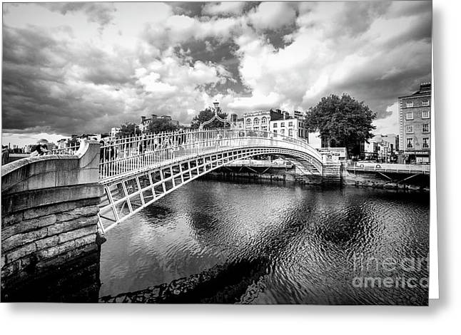 Halfpenny Bridge Greeting Card