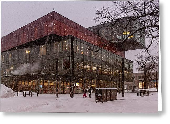 Halifax Central Library Greeting Card