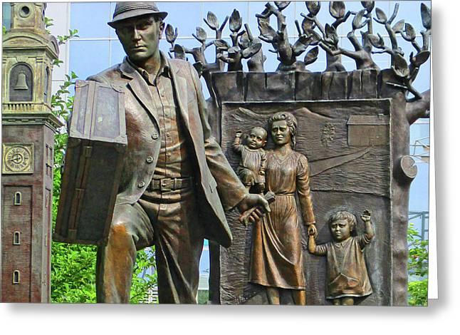 Halifax Sculpture 1 Greeting Card