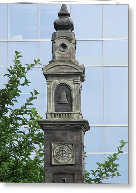 Halifax Sculpture 2 Greeting Card