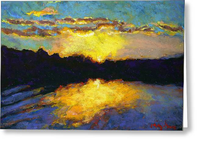 Halifax Sunrise II Greeting Card by Hillary Gross
