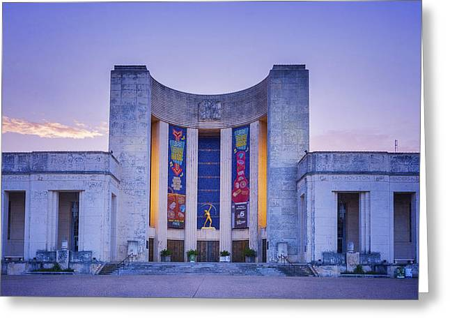 Hall Of State Texas Greeting Card