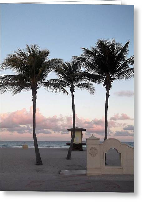 Hallandale Beach Greeting Card
