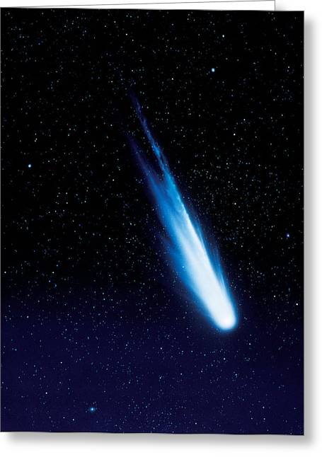 Halley's Comet Greeting Card