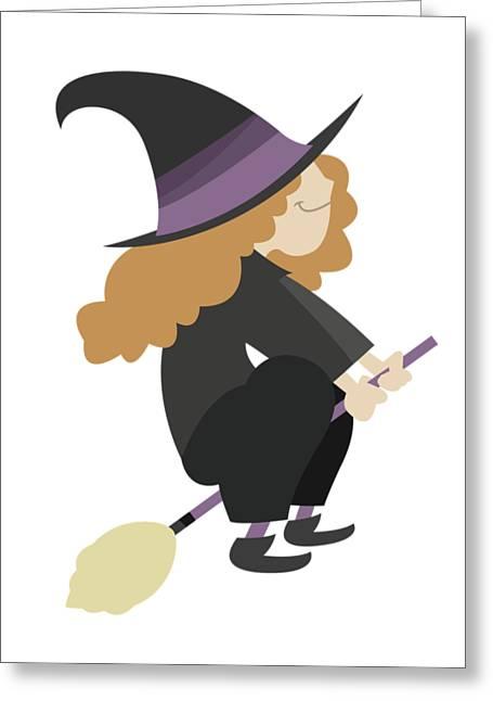 Halloween Cartoon 04 Greeting Card by Pablo Romero