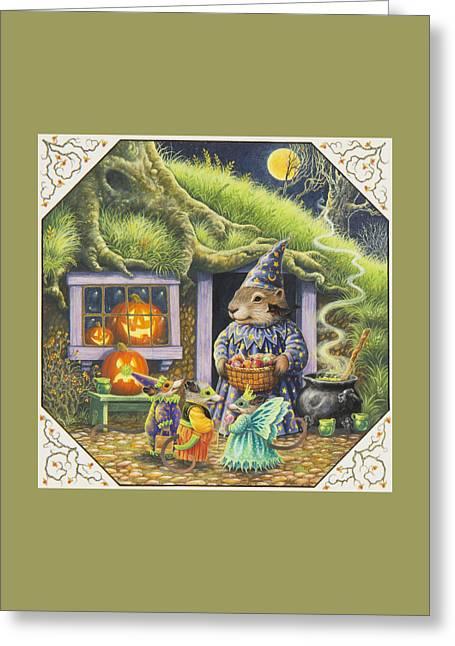 Halloween Costumes Greeting Card
