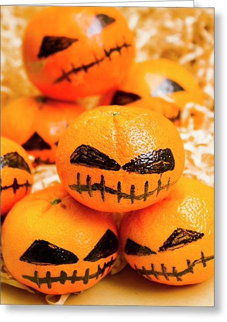 Halloween Craft Treats Greeting Card by Jorgo Photography - Wall Art Gallery