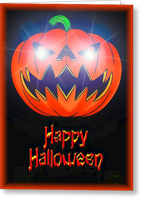Halloween Greeting Card Greeting Card