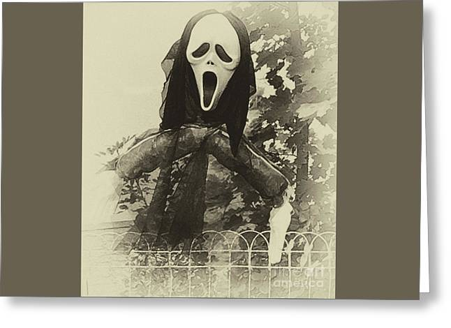 Halloween No 1 - The Scream  Greeting Card