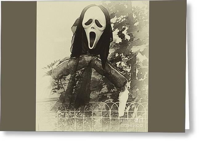 Halloween No 1 - The Scream  Greeting Card
