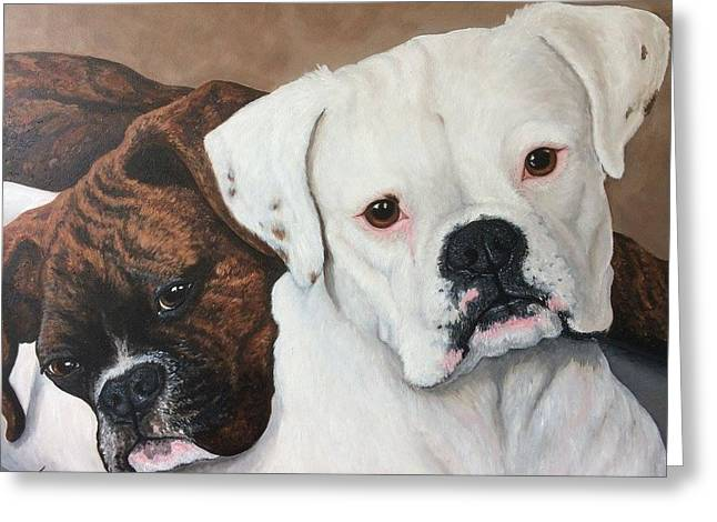 Halo And Henry Greeting Card