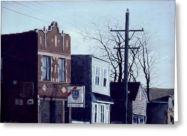 Halsted Greeting Card