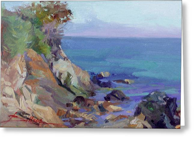 Hamilton Cove Catalina Island Greeting Card