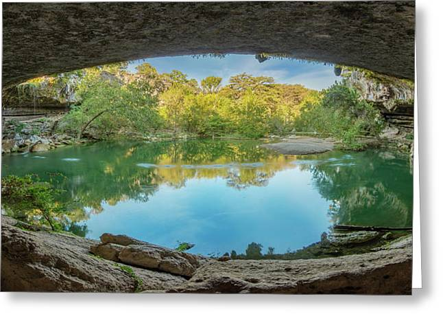 Hamilton Pool In The Texas Hill Country 1 Greeting Card