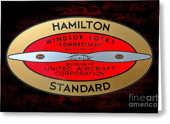 Hamilton Standard Windsor Locks Greeting Card