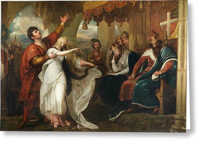 Hamlet- Act Iv, Scene V  Greeting Card