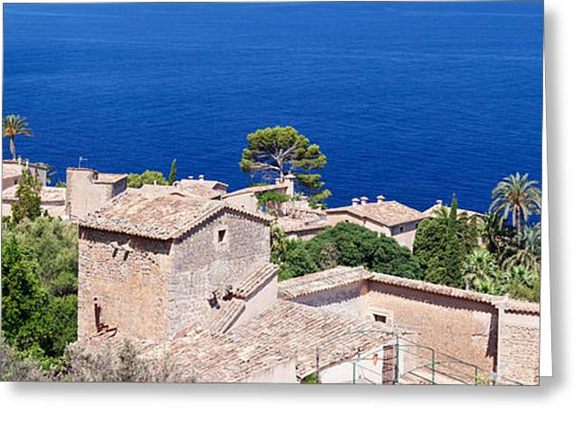 Hamlet By The Sea, Lluc Alcari Greeting Card by Panoramic Images