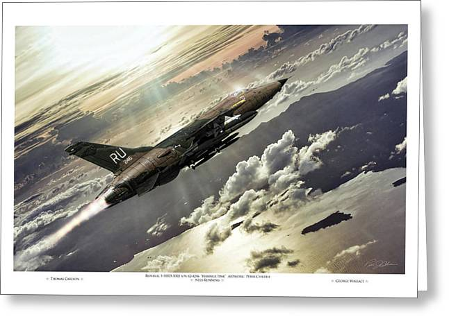 Hammer Time Pilot Edition Greeting Card by Peter Chilelli