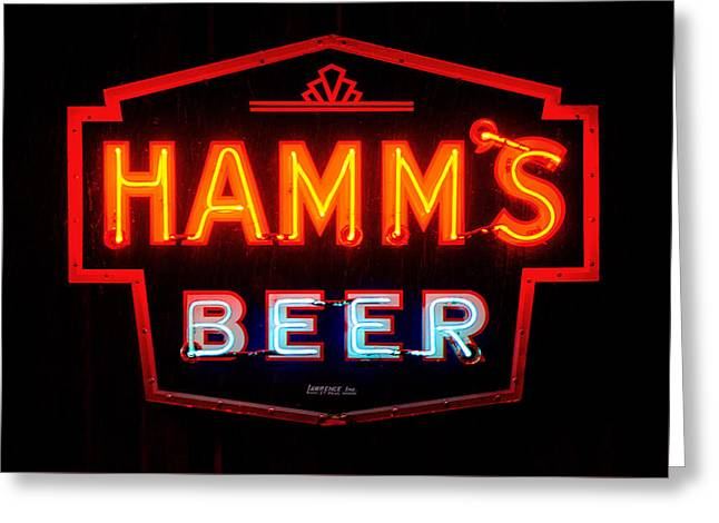 Hamm's Beer Greeting Card