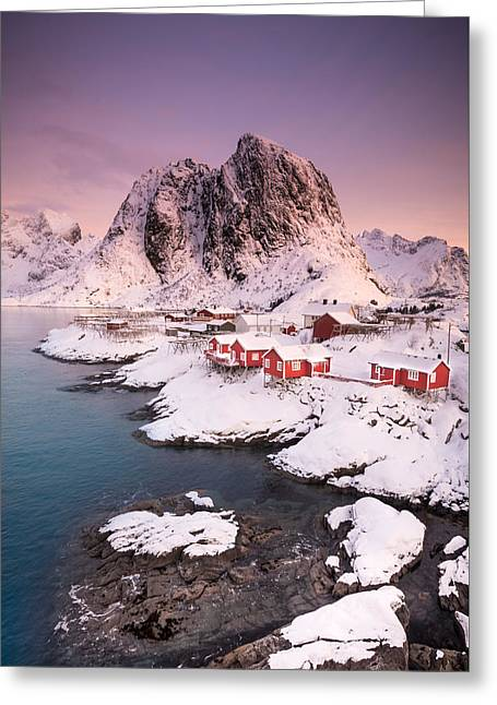 Hamnoy Greeting Card