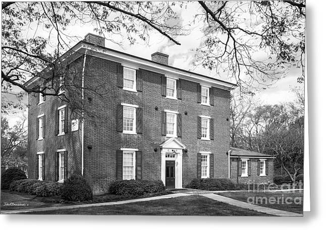 Hampden- Sydney College Atkinson Hall Greeting Card by University Icons