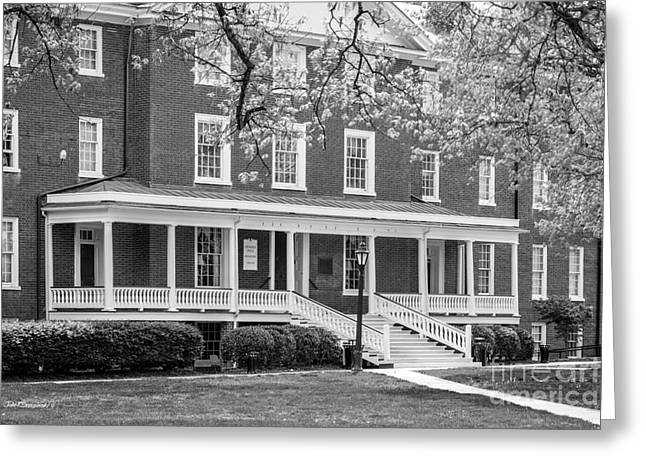 Hampden- Sydney College Venable Hall Greeting Card by University Icons