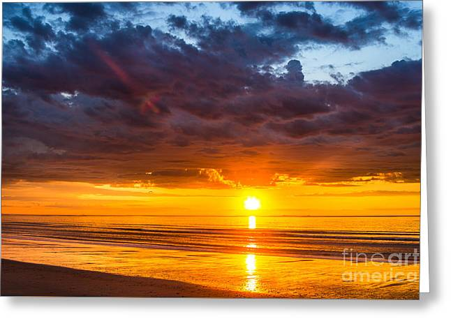 Hampton Sunrise Greeting Card