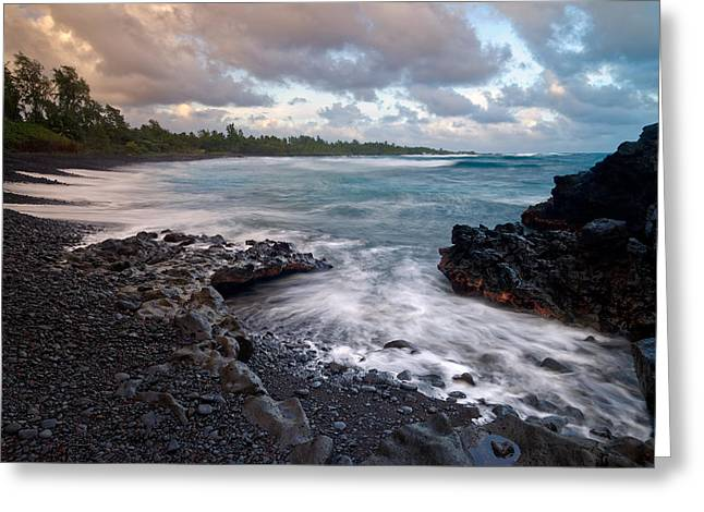 Maui - Hana Bay Greeting Card