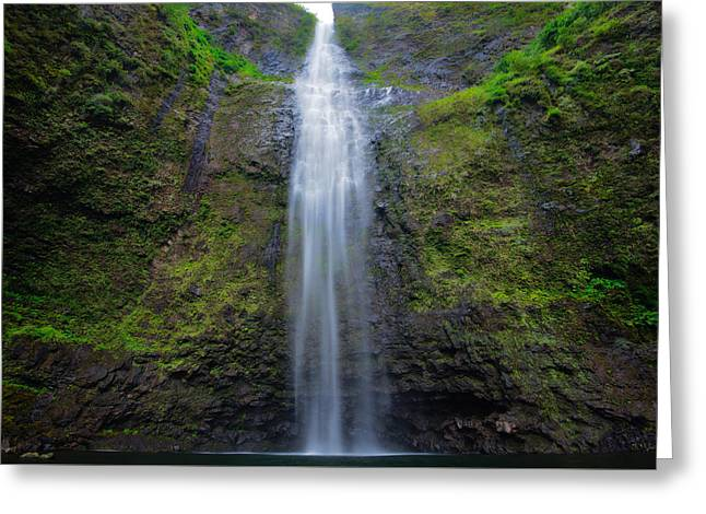 Hanakapiai Falls Greeting Card