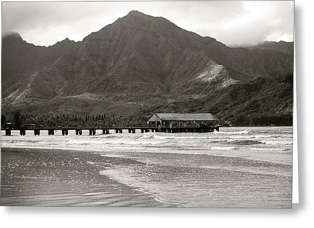 Hanalei Bay Greeting Card by Kicka Witte - Printscapes