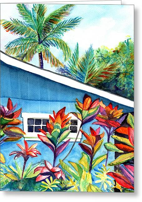 Hanalei Cottage Greeting Card