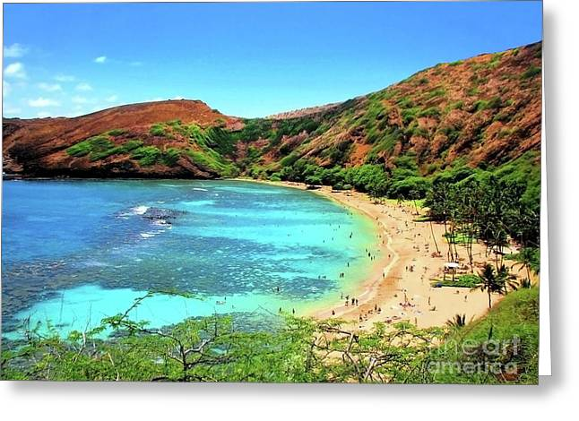Hanauma Bay Nature Preserve Greeting Card
