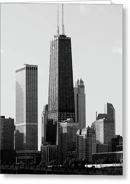 Hancock Center - Chicago Greeting Card