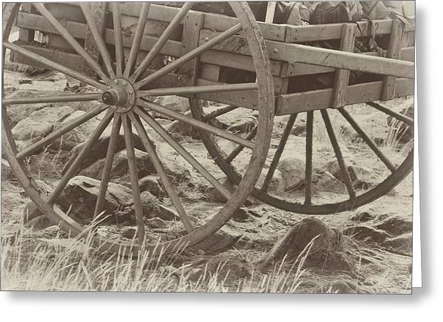 Handcart Greeting Card