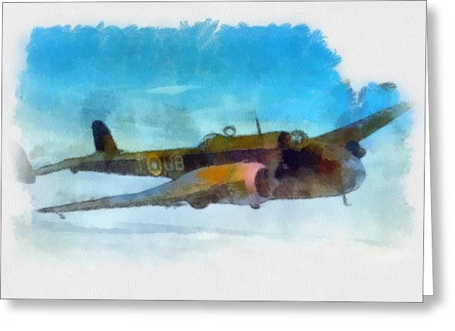Handley Page Hampden Wwii  Greeting Card