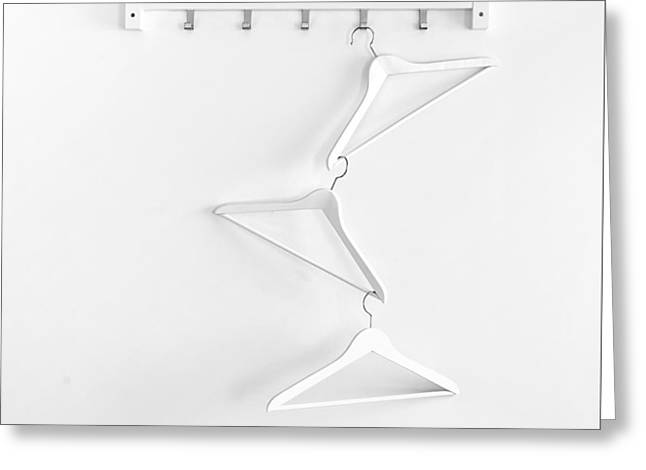 Greeting Card featuring the photograph Hangers No. 2 by Joe Bonita