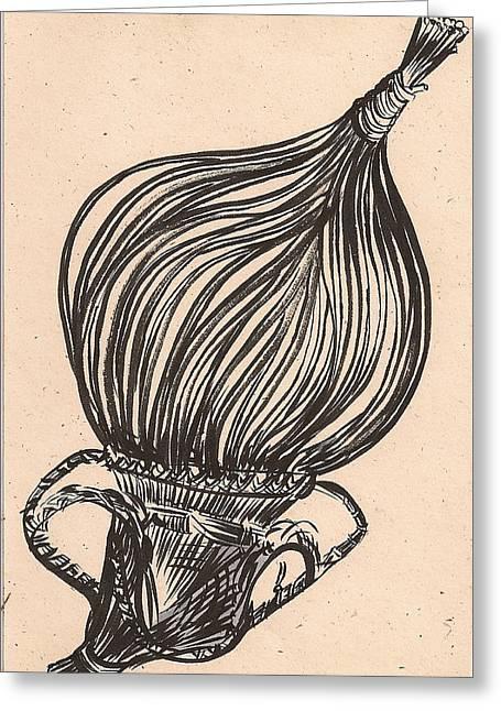 Hanging Basket Greeting Card